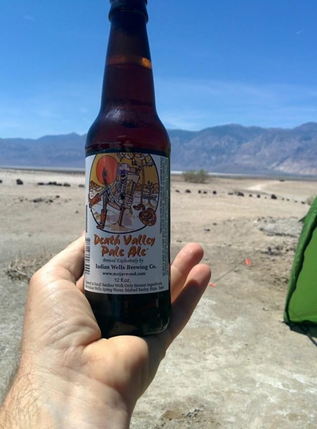 Death Valley Pale Ale bottle