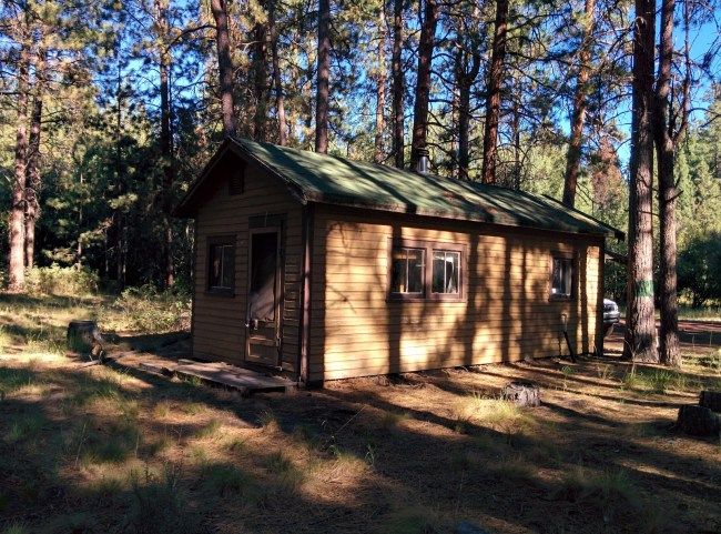 The Rear Of The Cabin