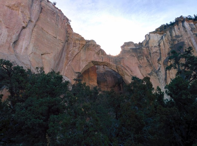 View Of the arch From The Official Viewing Area