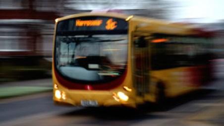 background-bus-light-effect