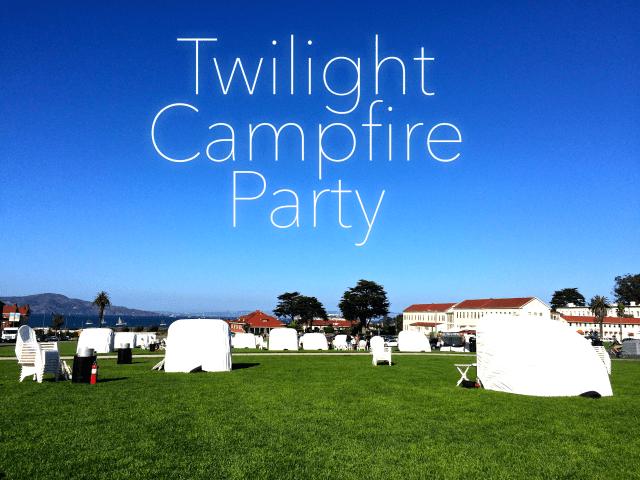 Twilight at the Presidio Campfire Party