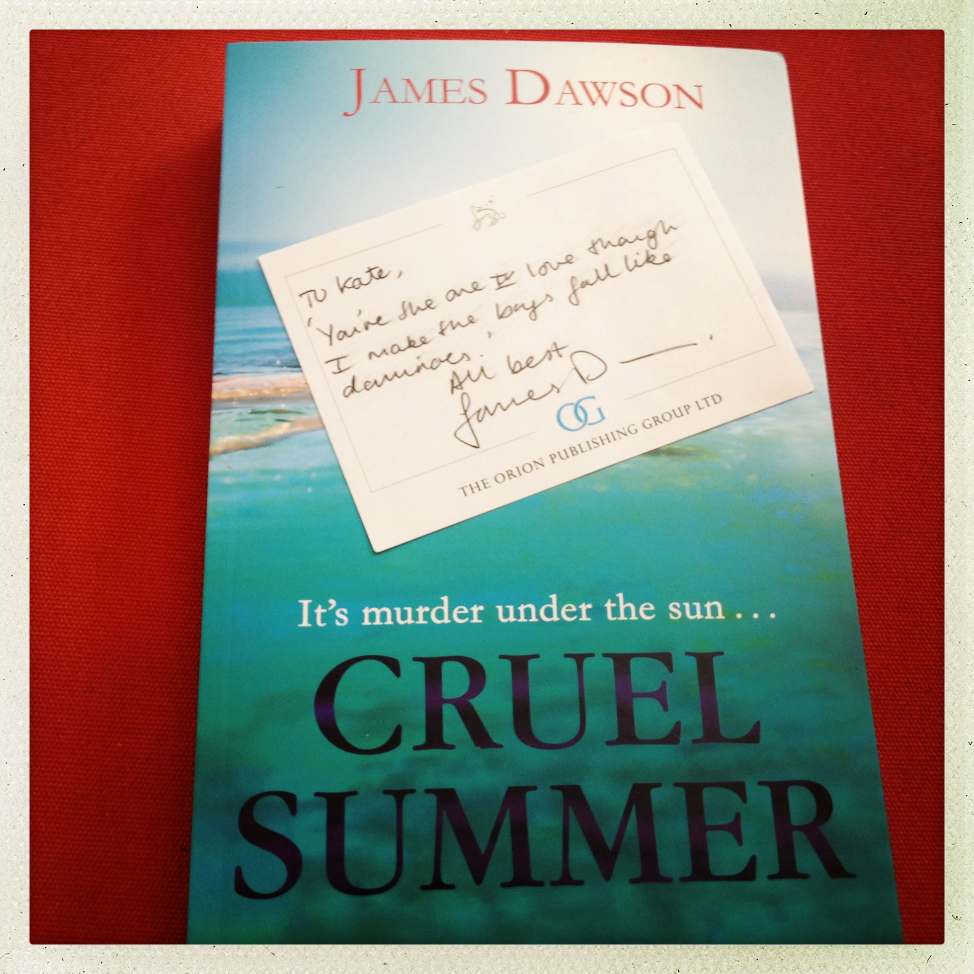 Review: Cruel Summer by James Dawson
