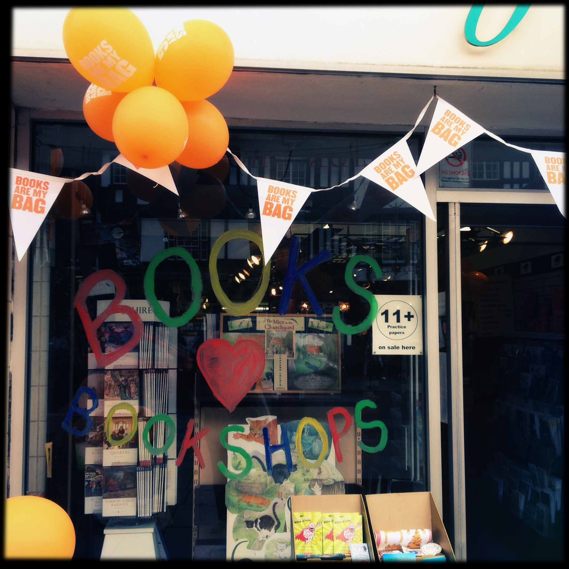 Books Are My Bag: The Big Bookshop Party