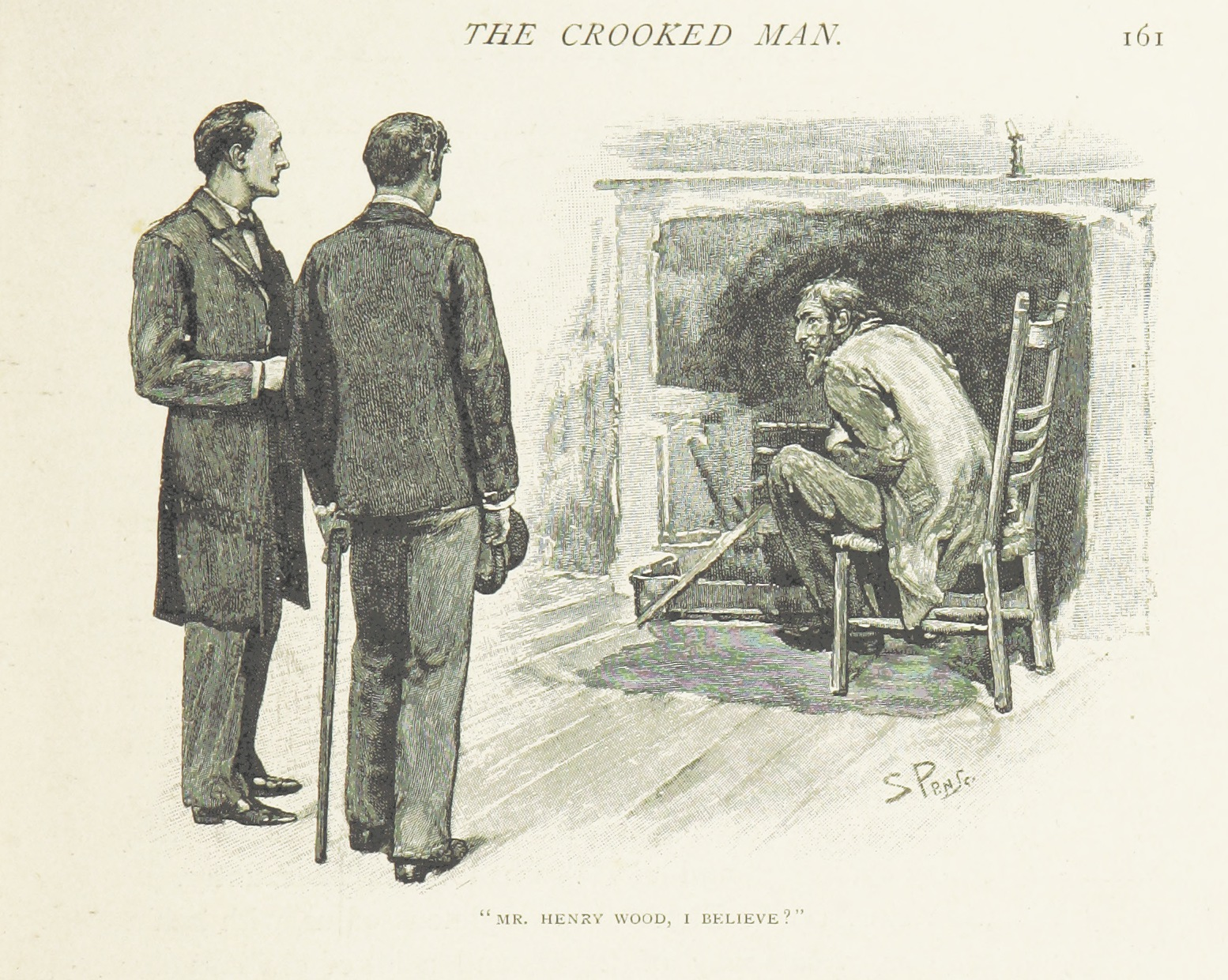 A locked room and a missing key face Sherlock in The Adventure of the Crooked Man