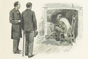 A sick man leads to The Adventure of the Resident Patient for Sherlock Holmes