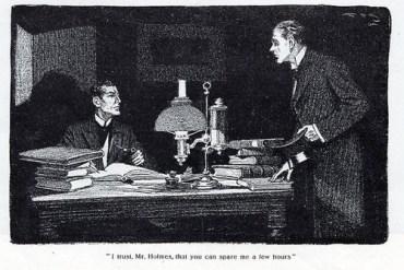 Sherlock must solve an apparently motiveless murder in The Adventure of the Golden Pince-nez