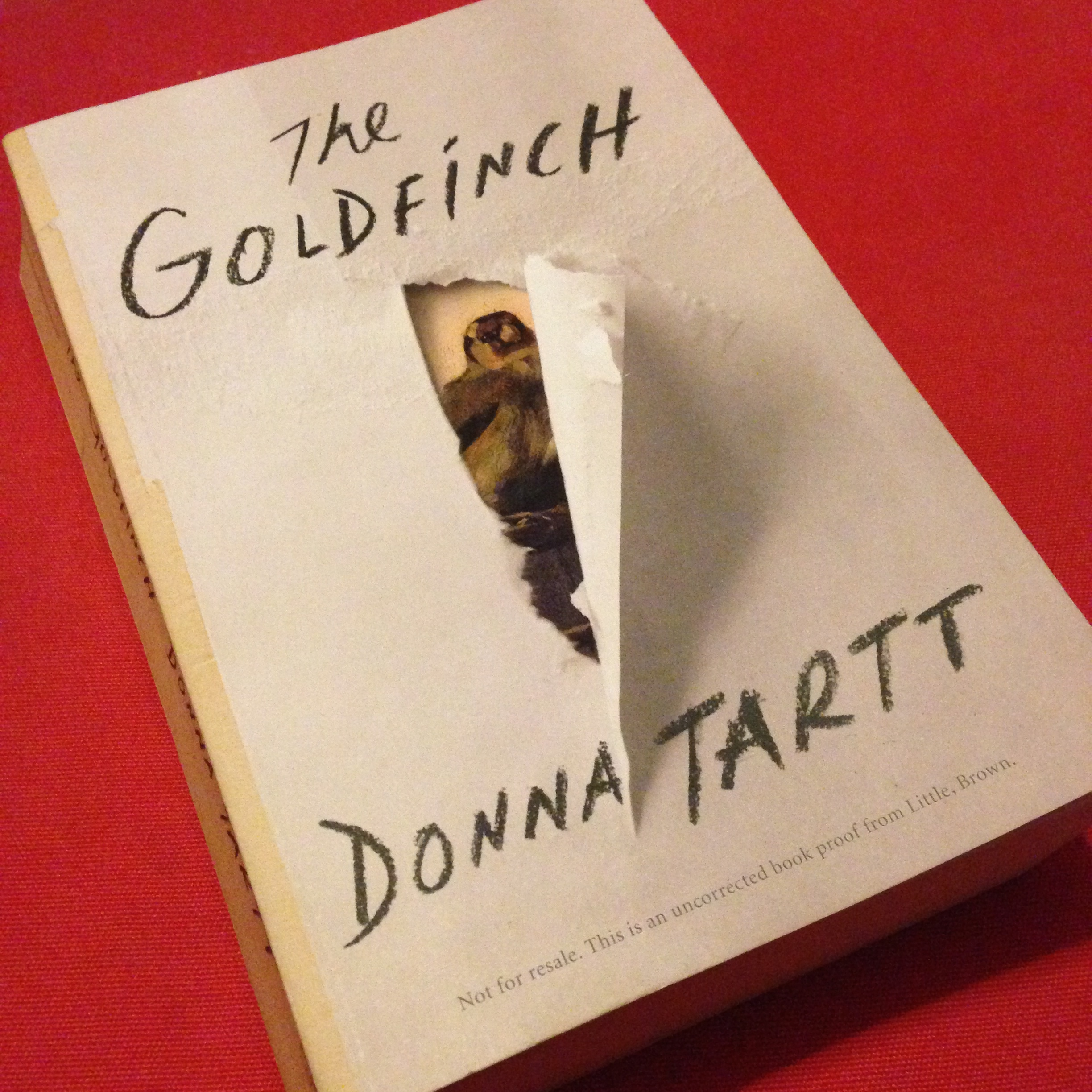 Still Can't Stop Talking About It: The Goldfinch and Tall Tales From Pitch End #bookadayUK