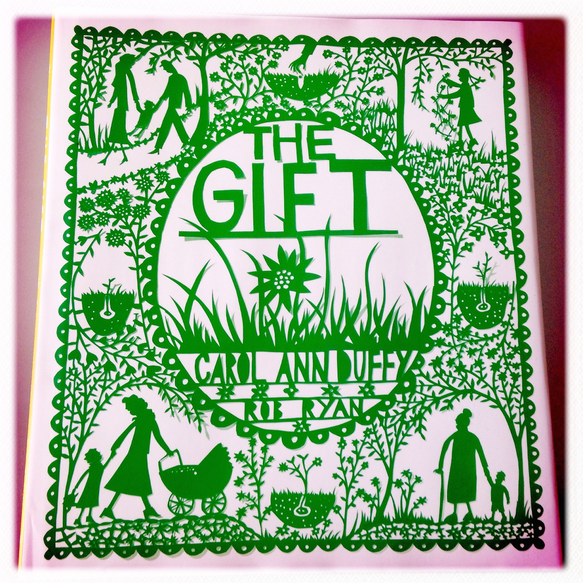 Best Cover: Look Who's Back and The Gift #bookadayuk