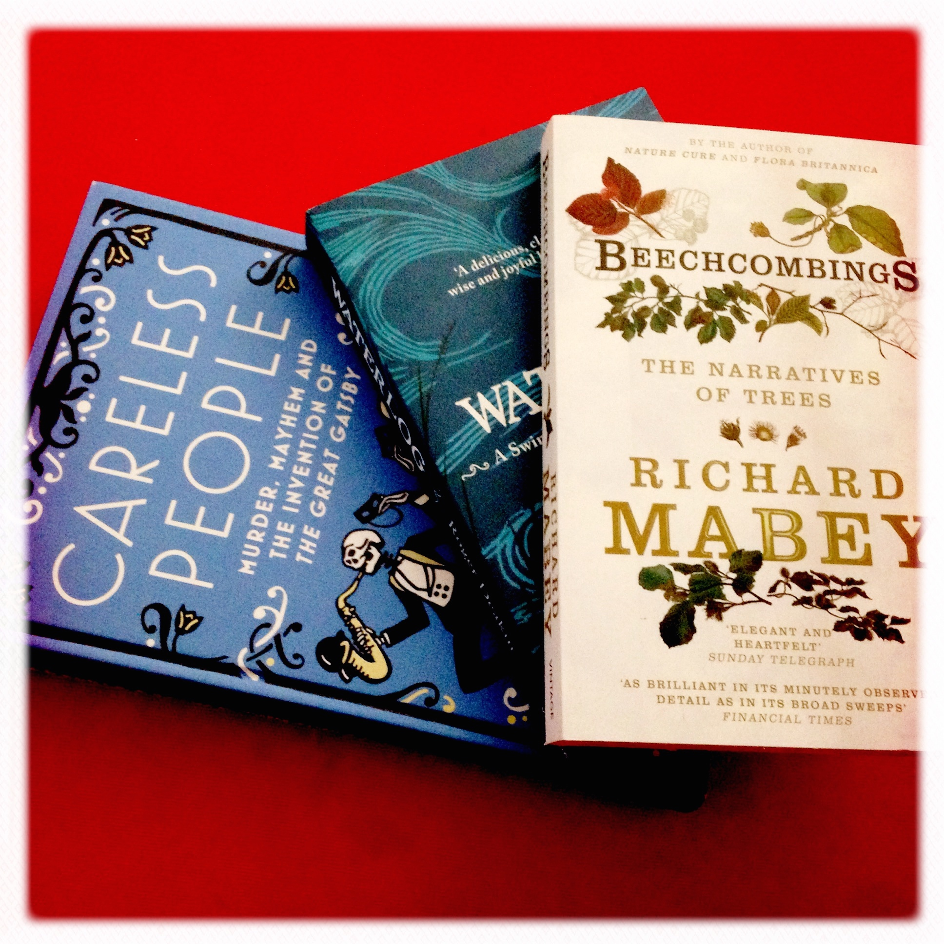 Belated Summer reads: Non-fiction and The Beach #bookadayuk