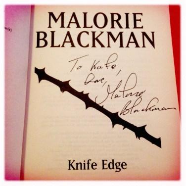 Knife Edge - Malorie Blackman