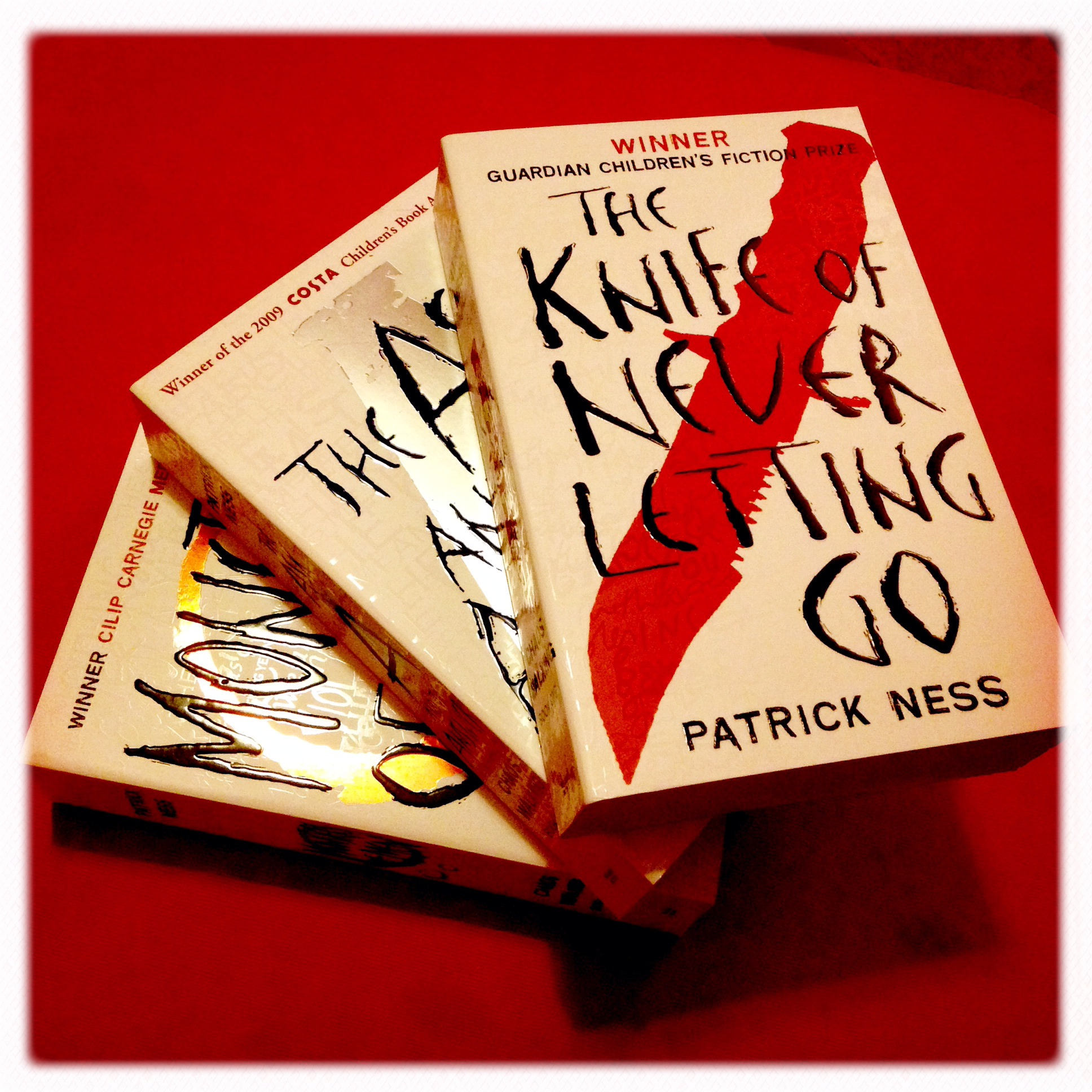 The Book That Made You Cry: Levels of Life and The Chaos Walking Trilogy #bookadayUK