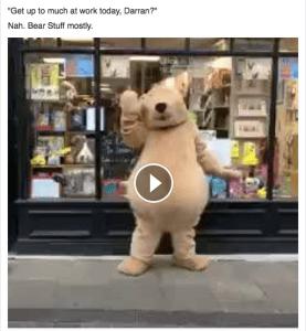 Darren the Dancing Bear