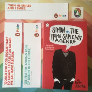 #LGBTQLibrary Simon vs. The Homo Sapiens Agenda
