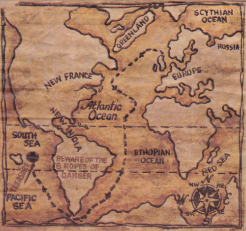 New France? New India? What was going on in the Adventure Team's world?