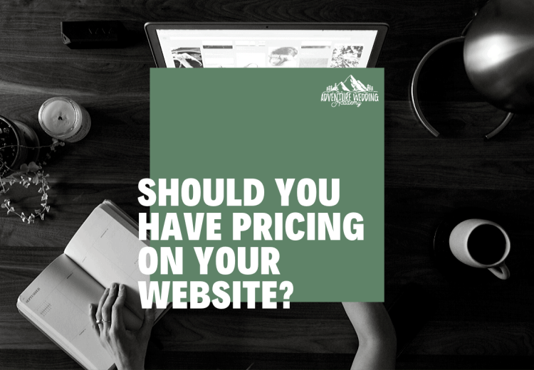 Should you have prices on your website blog post