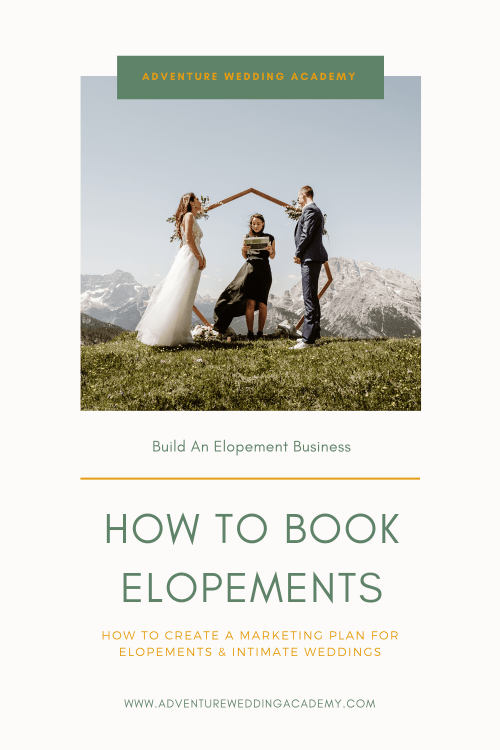 how to book more elopements