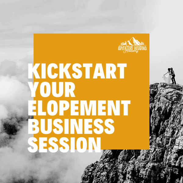 Kickstart your elopement business