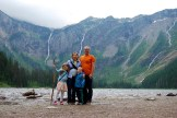 Top family hikes in Glacier National Park. Avalanche Lake. www.adventuringbeyond.com