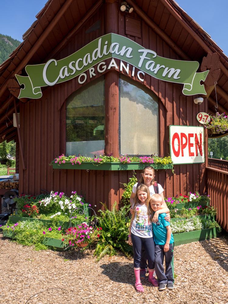 Cascadian Farms Roadside Stand. www.adventuringbeyond.com