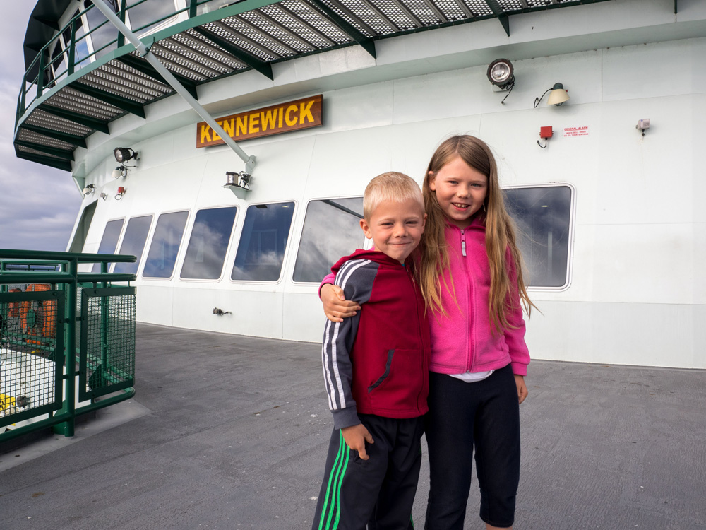 Port Townsend - Coupeville Ferry. www.adventuringbeyond.com