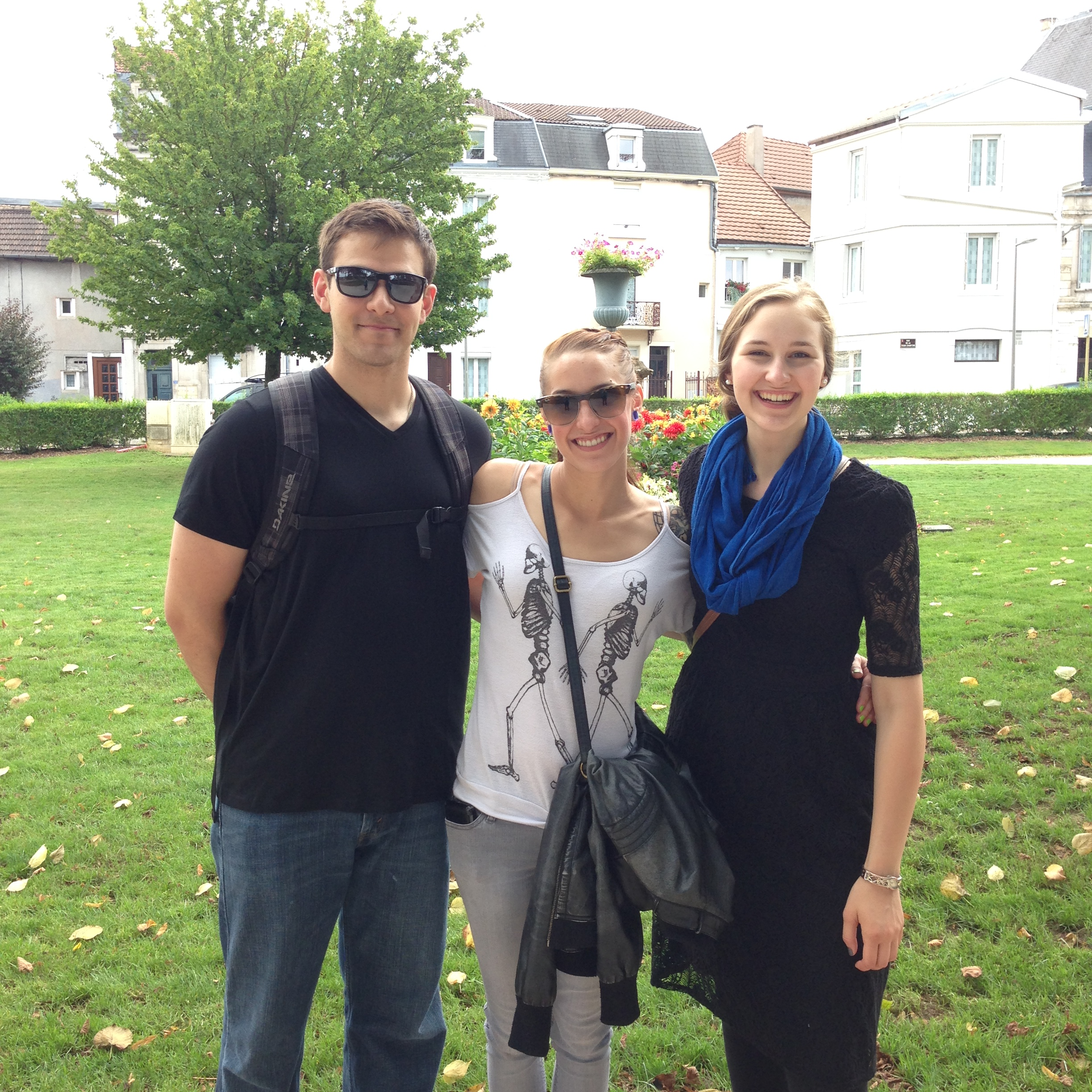 Siblings in Chaumont Centre-Ville, France