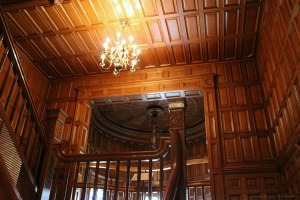 Majestic Wood Paneled Staircases Abound at Craigdarroch Castle