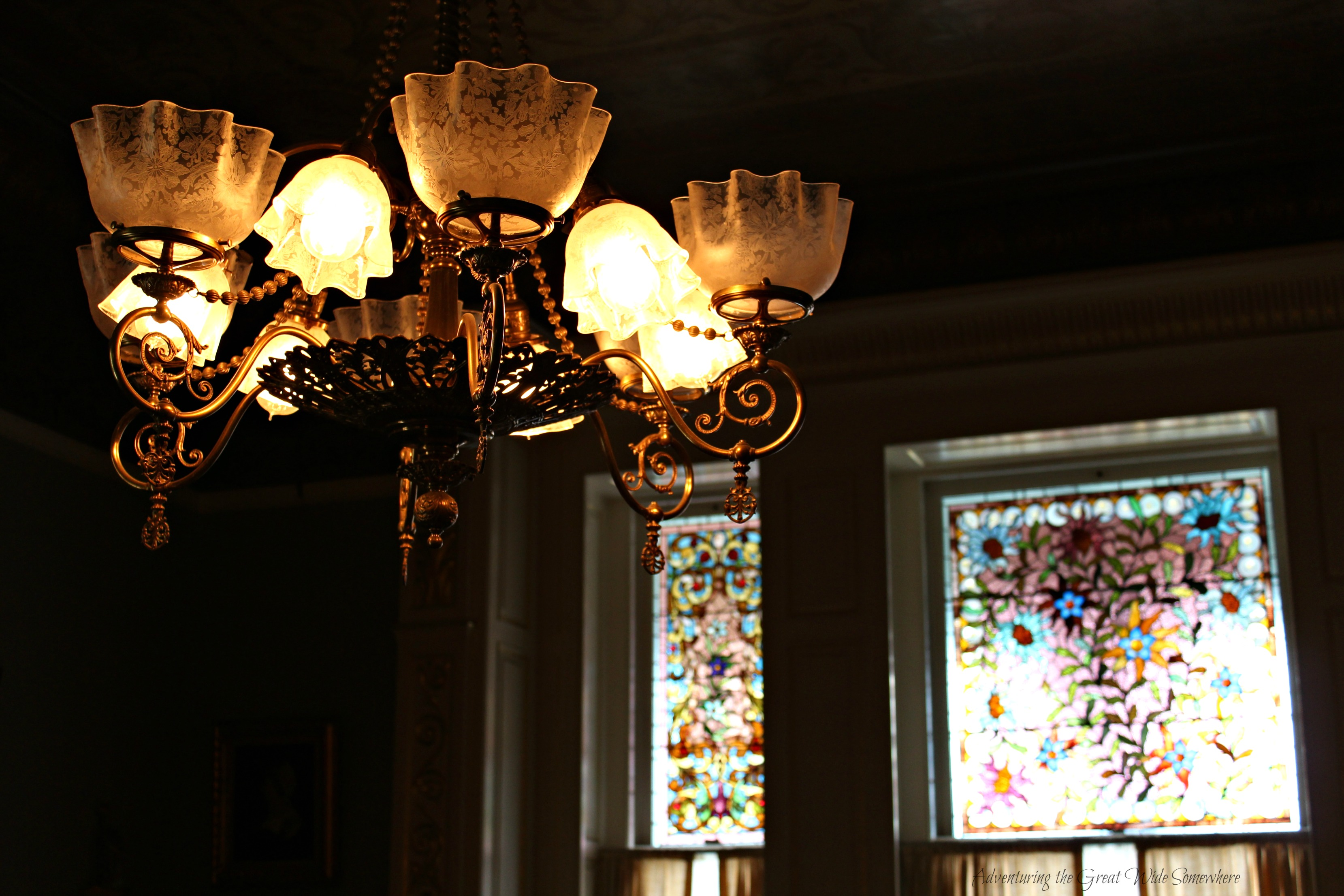 Pretty Little Details in the Dunsmuirs Sitting Room, Craigdarroch Castle