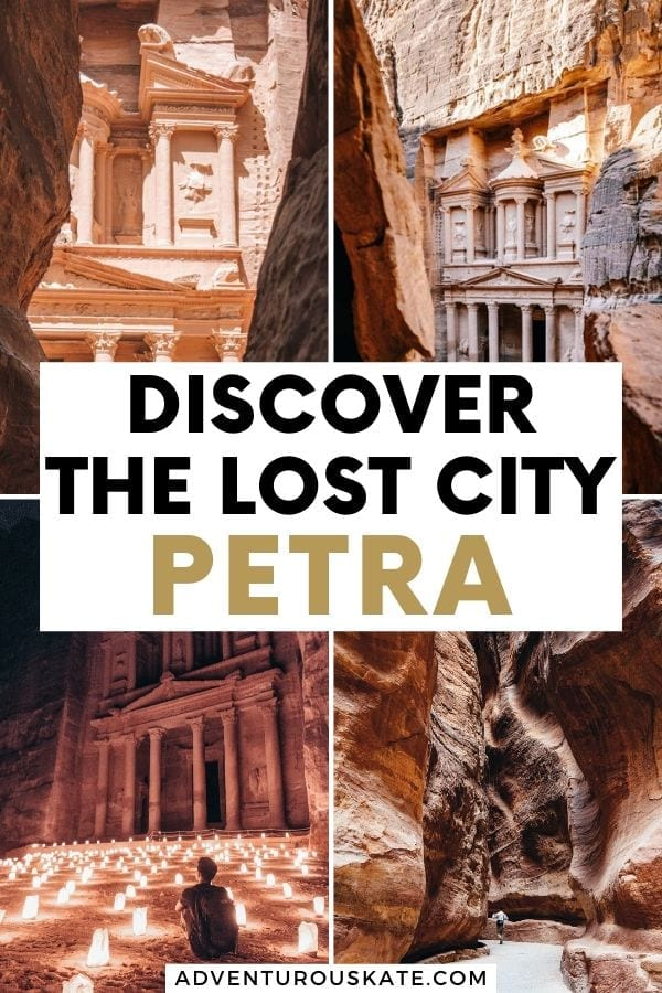 Discover the lost city of Petra