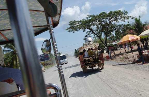Tuk-tuk in Cambodia