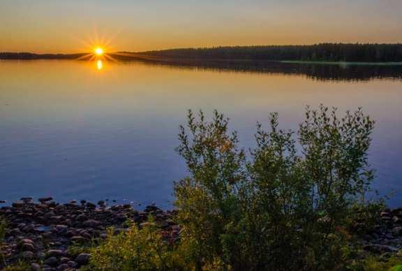 Midnight Sun in Kuhmo
