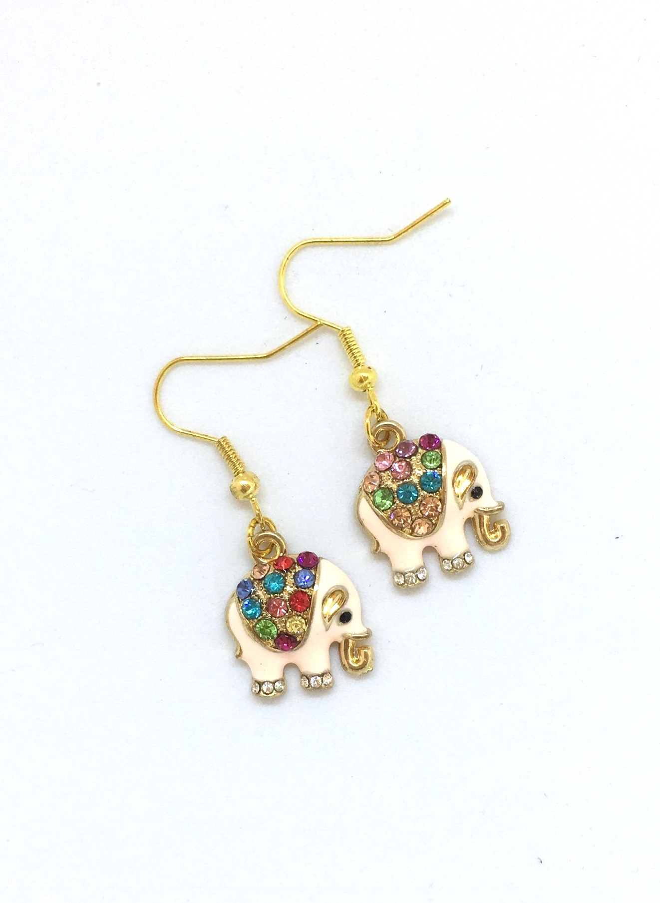 i earrings silver elephant tradesy gold