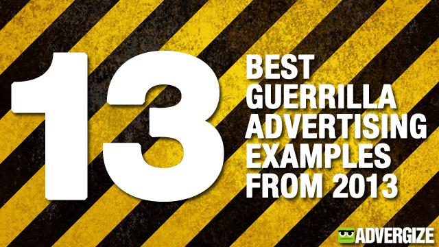 13-Best-Guerrilla-Advertising-Examples