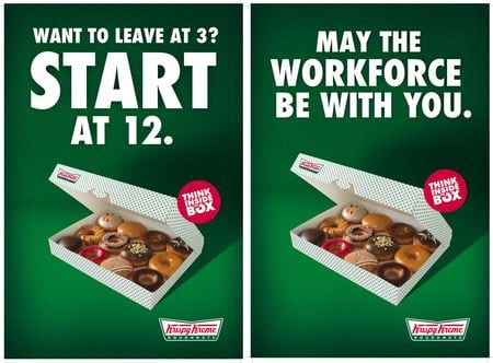 krispy-kreme-advertising-slogan-think-inside-the-box
