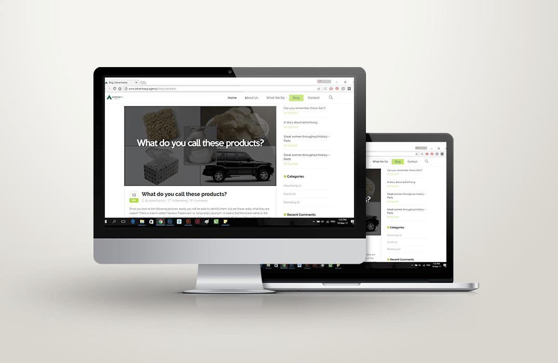 AdvertiseUp Agency (Website)