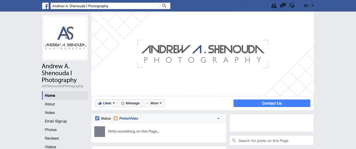 Andrew Shenouda Photography (Social Media Handling)