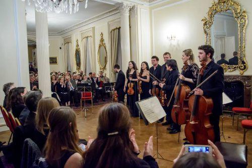 Enescu, triumfător la Royal Festival Hall