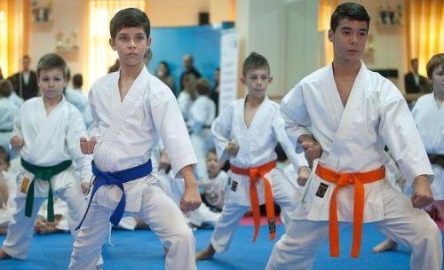 Şase medalii de aur la karate pentru copiii din Sectorul 6
