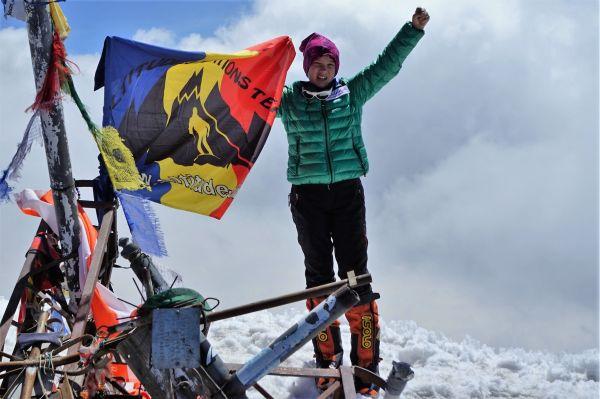 Alpinista Dor Geta Popescu stabileste un nou record mondial pentru Pico de Orizaba America de Nord