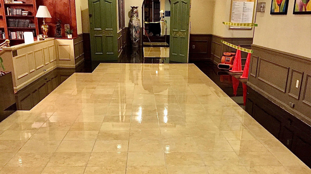 tile hard surface cleaning
