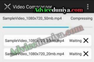 video size ko compress kaise kare