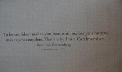 """Diane Von Furstenburg Offers an """"American Express"""" Exclusive Taste of Fashion Week"""