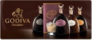 Godiva Chocolate Liqueur Stirs the Flames of Love