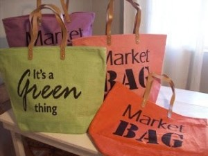 To Market, To Market, With a Fashionable Notes, Eco-Conscious Tote