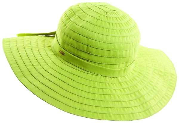 Here's to A Hat That Truly Staves off the Sun!
