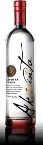 Super-Premium Akvinta Vodka Smooths and Satisfies