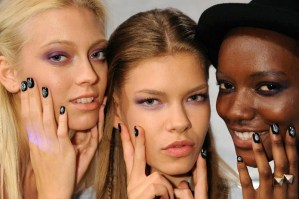 Fashion Week Beauty: Creative Nail Design's Subtle to Glam Nails at #NYFW @CNDworld