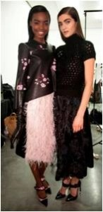 London Fashion Week Fall 2013: NARS Backstage Beauty for ERDEM