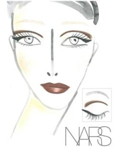 Bacvkstage Beauty Mercedes Benz Fashion Week Fall 2013:  NARS for Camern Marc Valvo