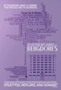 Scatter My Ashes at Bergdorf Goodman (movie review) #getscattered