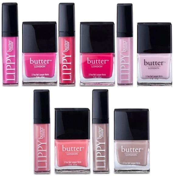 butter london lips and tips group